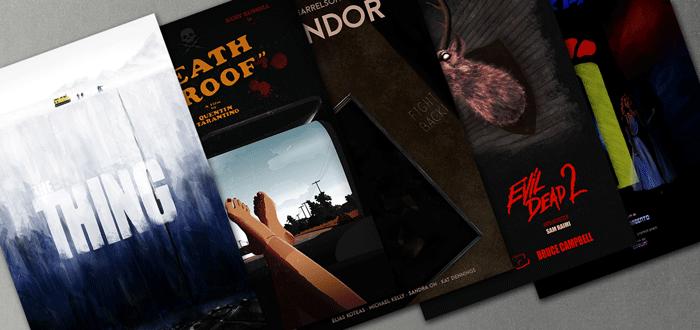 Alternative Movie Tribute Posters by We Love Cinema