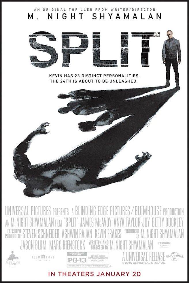 New poster for M.Night Shyamalan's Split