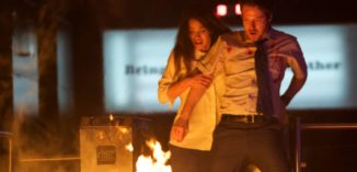 """Official poster and red band trailer for """"The Belko Experiment"""", written by James Gunn"""