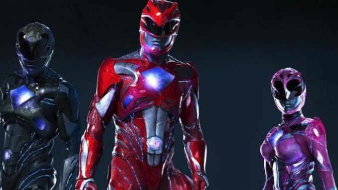 Power Rangers on the works and images