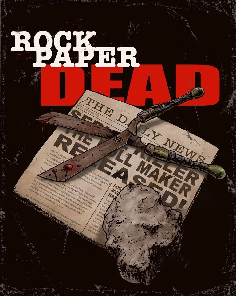 Tom Holland's upcoming Rock Paper Dead (2017) in post-production