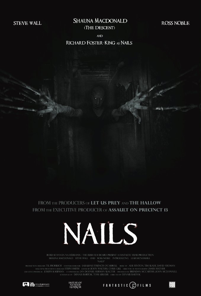 "Official trailer and poster for ""Nails"""