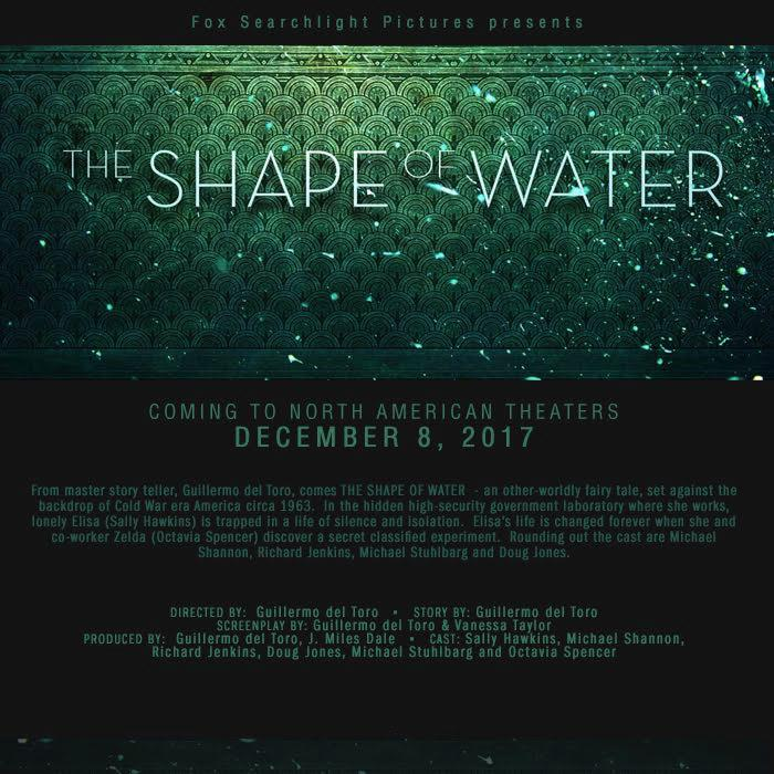 R-rated Guillermo del Toro's The Shape of Water has the official release date