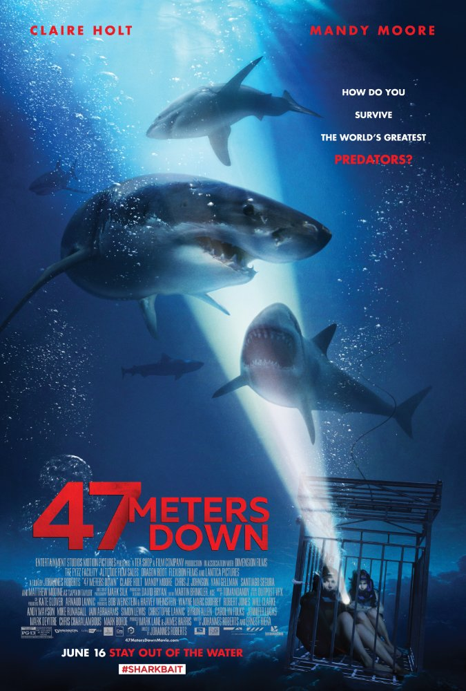 """47 Meters Down"" is the sharks flick of this summer"