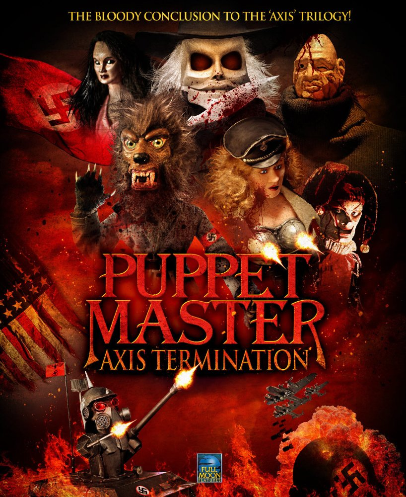 """New official trailer for """"Puppet Master: Axis Termination"""""""
