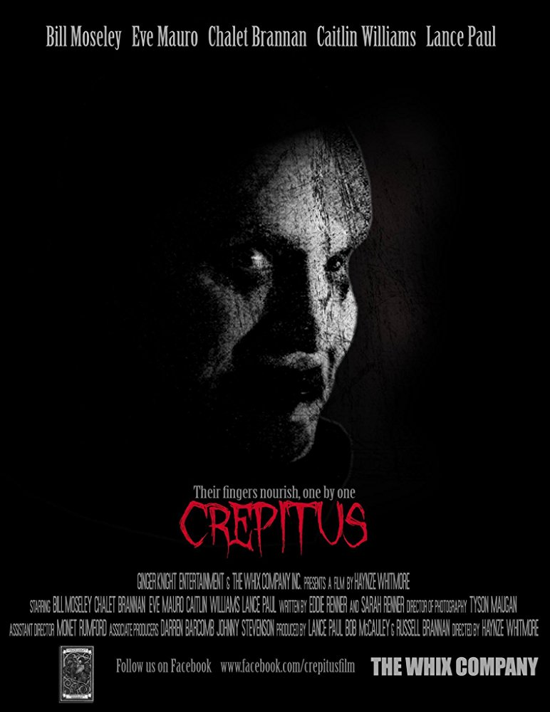 """Another official trailer and poster for """"Crepitus"""", starring Bill Moseley"""
