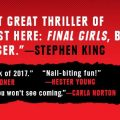 "A film adaptation for the successful novel ""Final Girls"" is on the works"