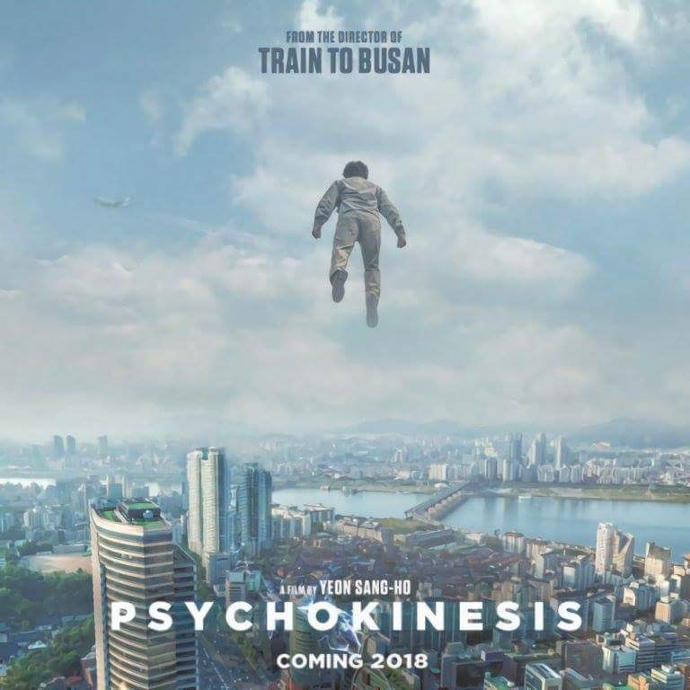 "Poster of ""Psychokinesis"", the new movie from the director of ""Train to Busan"""