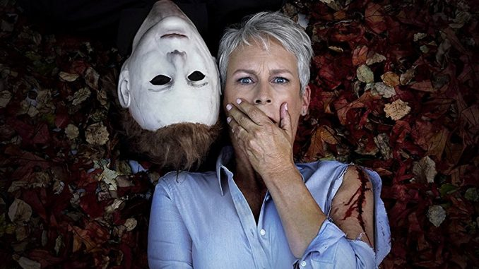 """Happy Halloween"" from Jamie Lee Curtis as Laurie Strode"