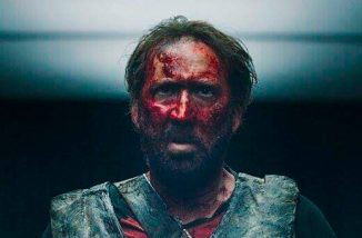 "Poster for Panos Cosmatos' ""Mandy"", starring Nicolas Cage"