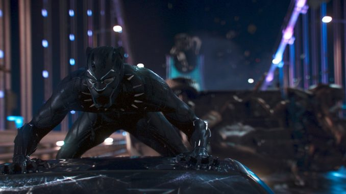 """""""Black Panther"""" becomes the highest grossing Marvel movie in its opening week"""