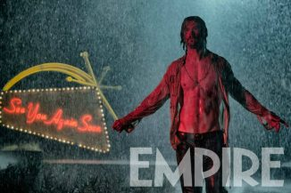 "First look of Chris Hemsworth in Drew Goddard's ""Bad Times At The El Royale"""