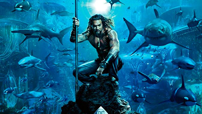 "Comic Con screens the first trailer for ""Aquaman"""