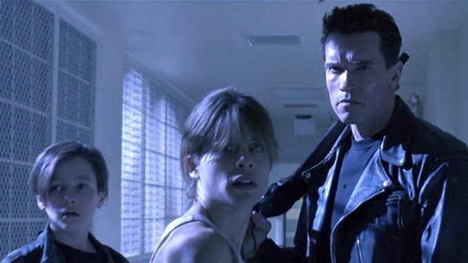 "The ""Terminator"" reboot with Arnold Schwarzenegger and Linda Hamilton is now filming"