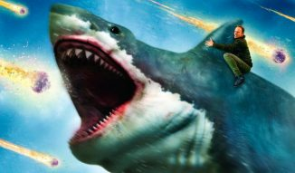 """The Last Sharknado: It's About Time"" is available on VoD"