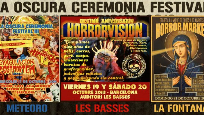 This weekend in Barcelona the 10th HorrorVision festival and HorrorMarket are taking place
