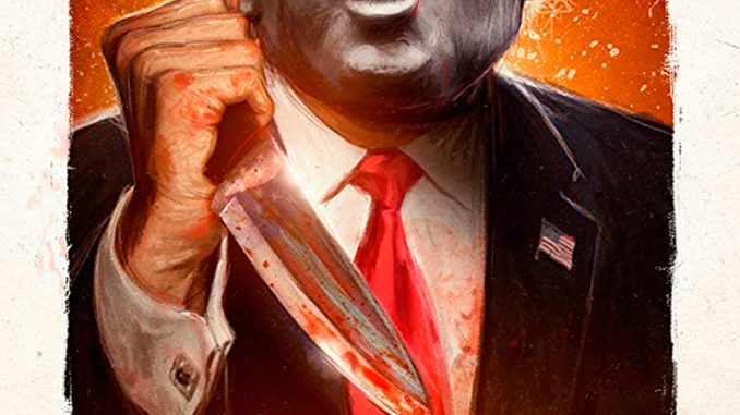 "Trailer of ""President Evil"", Michael Myers as Donald Trump"