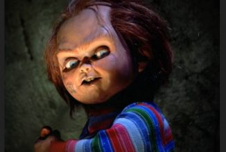 "Chucky wishes you Merry Christmas with the postcards and motion poster of the ""Child's Play"" reboot"