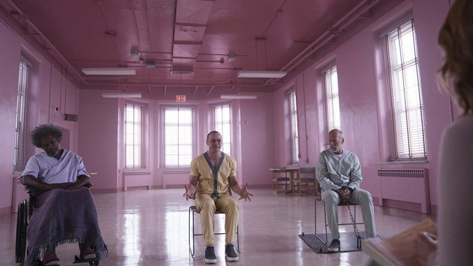 "International trailer for M. Night Shyamalan's ""Glass"", coming out next month"