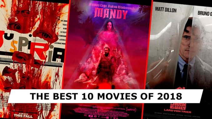 The best 10 movies of 2018