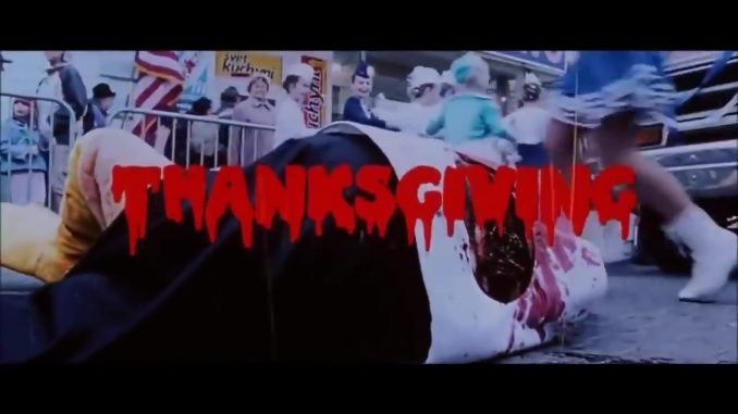 """Rumors time: Is Eli Roth working on the full movie """"Thanksgiving""""?"""