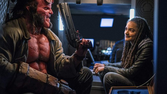 "New trailer for ""Hellboy"", coming out in April"