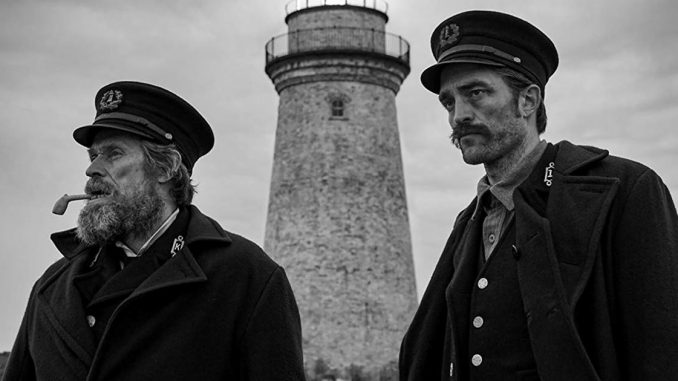 "First look at ""The Lighthouse"", the new Robert Eggers movie premiering in Cannes"