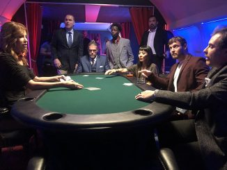 "A futuristic flying casino gets robbed in ""Money Plane"" [trailer]"
