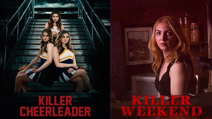 "Being young and sexy can be dangerous in ""Dying to be a Cheerleader"" and ""Killer Weekend"""