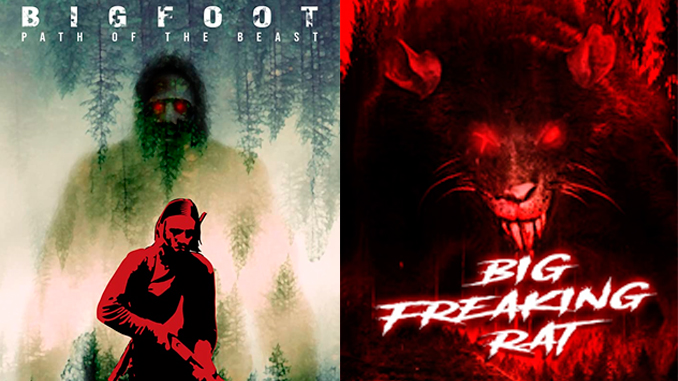 """""""Bigfoot: Path of the Beast"""" and """"Big Freaking Rat"""", creatures are taking over"""