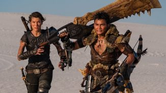 "First teaser with Milla Jovovich in ""Monster Hunter"""