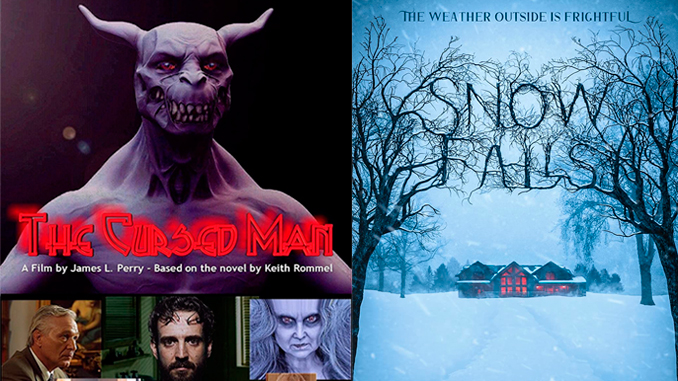 """More horror for this Halloween: """"The Cursed Man"""" and """"Snow Falls"""""""