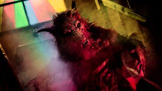 "Werewolves and criminals in horror ""A Werewolf in England"""