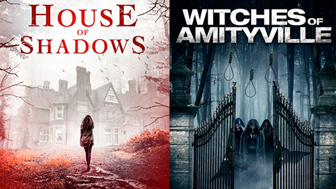 "Witches and ghosts take your house in ""House of Shadows"" and ""Witches of Amityville Academy"""