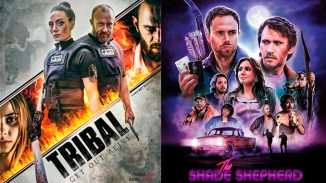 "Check out action-thrillers ""Tribal - Get Out Alive"" and ""The Shade Shepherd"""