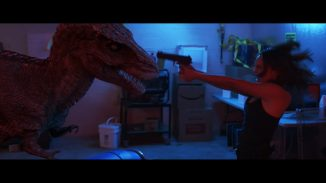 """A group of mercenaries against dinosaurs in """"Triassic Hunt"""""""