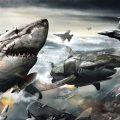 "Deep Antarctic Nazis attack in ""Sky Sharks"""