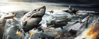 "Deep Antarctic Nazis attack in ""Sky Sharks"""