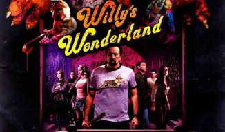 "First trailer for Nicolas Cage horror ""Willy's Wonderland"""