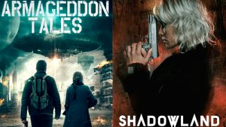 "Two different groups of people seeking refuge: ""Armageddon Tales"" and ""Shadowland"""