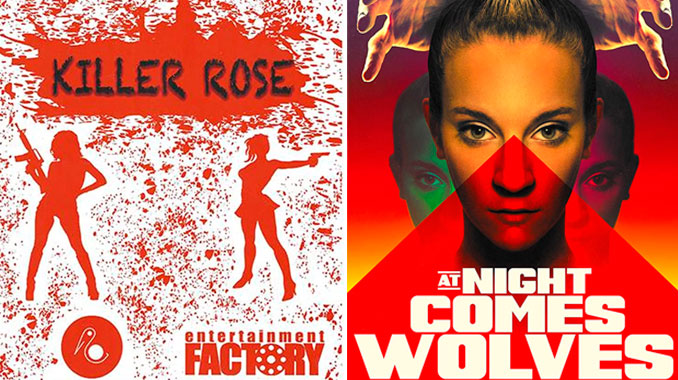 "Girls try to survive in horror-thrillers ""Cold Blooded Killers"" and ""At Night Comes Wolves"""