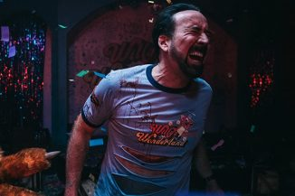 "Nicolas Cage's horror-comedy ""Willy's Wonderland"" will be out on DVD this April"