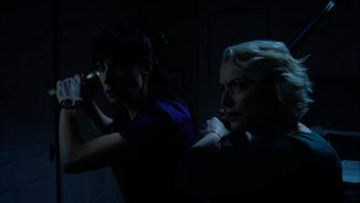 """A nurse must survive a hurricane and serial killer in """"Psycho Storm Chaser"""""""