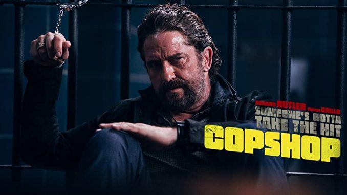 "Gerard Butler and Frank Grillo star in frantic action thriller ""Copshop"""